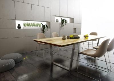 Stół rozkładany Fold