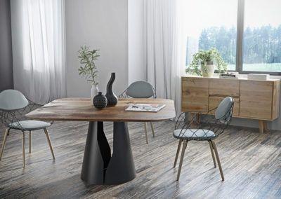 Stół Mono - okrągły