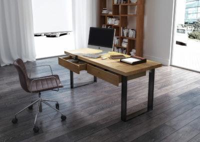 biurko classic aranżacja biurka