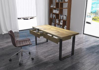 biurko classic aranżacja biurka pusty blat
