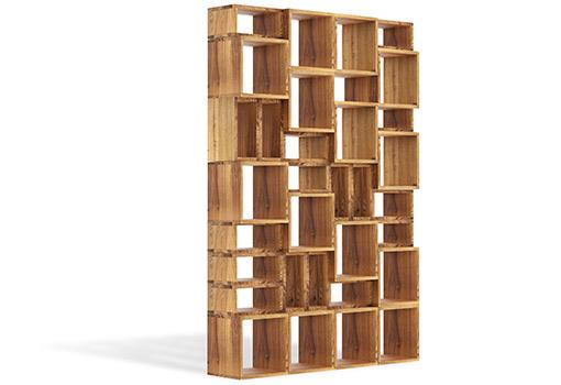 Regał HOLDEN - meble drewniane