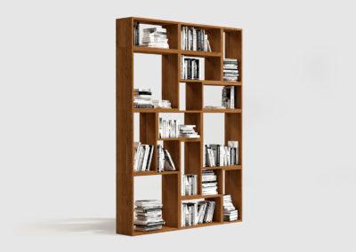 Regał JORDEN klasyczna forma regału na książki i inne rzeczy