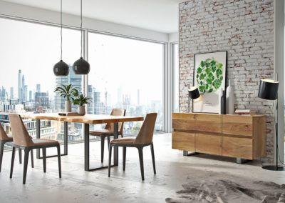 Kolekcja mebli Avangard Stół, komoda, krzesła