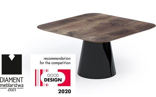 Stoły MONO - unikalne stoły z metalową nogą i drewnianym blatem