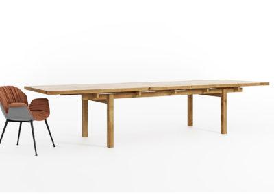 Stół Torii - w stylu japońskim, lite drewno