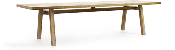 Stół Collier nowoczesny stół, designerska forma