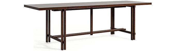 Designerski stół do jadalni w stylu skandynawskim