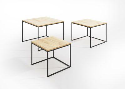 Modułowe rozsuwane stoliki kawowe ETT