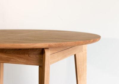 rozkładany stół SLIG zbliżenie