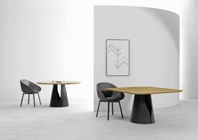 Stół Mono piękna stylowa minimalistyczna aranżacja wnętrza