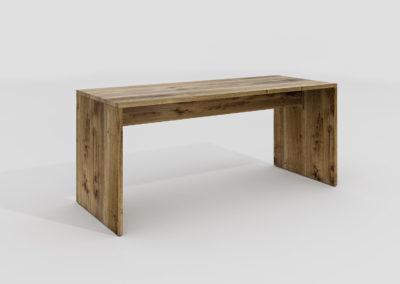 Stół i biurko Treet cały z prawdziwego drenwna