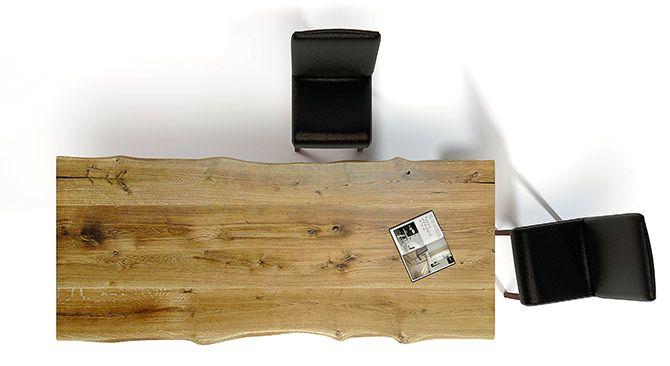Stół do jadalni Avangard nieregularny blat