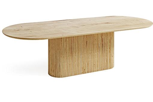Stół kalisto jak grecki filar