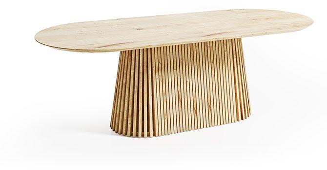 Owalne i okrągłe stoły do biura DION