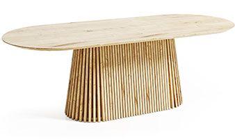 Owalny stół do biura DION