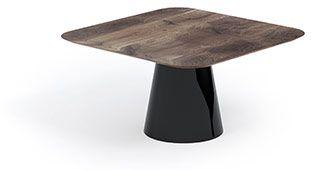 Nowoczesny, minimalistyczny stół kwadratowy