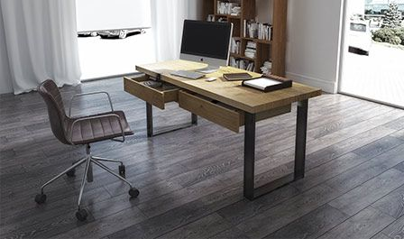 Solidne drewniane biurka z prawdziwego naturalnego drewna