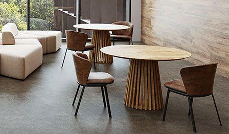 Stół okrągły z kolekcji DION