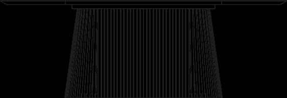 Rysunek stół DION owalny