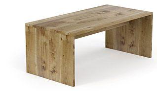 Biurka i Stoły TREET - jednolita drewniana forma