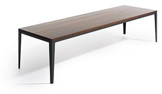 FLOY HARD to proste nowoczesne stoły, bez dodatków